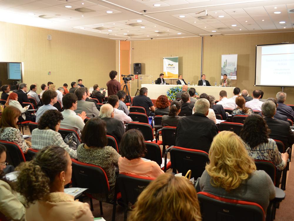 Evento foi organizado pela Assecor no auditório da CNTC, na Asa Sul. Foto:Filipe Calmon / ANESP