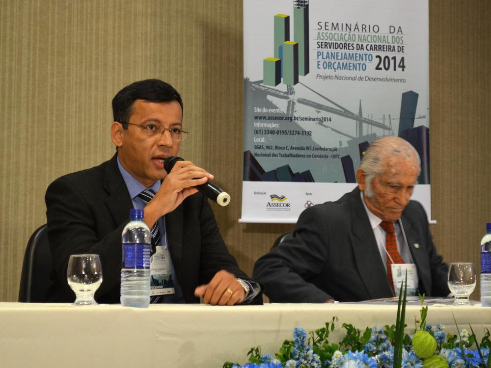 Eduardo Rodrigues, presidente da Assecor, abriu o evento.Foto:Filipe Calmon / ANESP