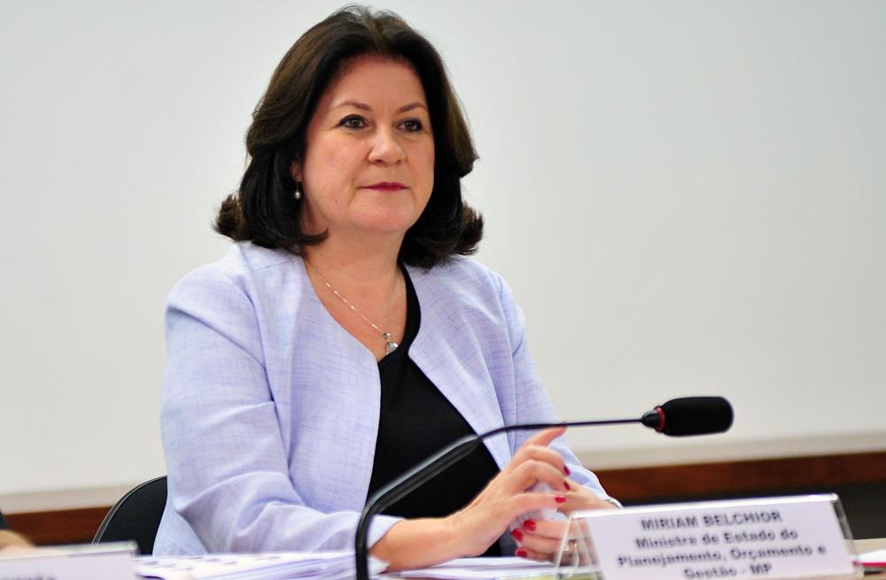 Miriam Belchior - Ministra do MPOG Foto: Zeca Ribeiro - Câmara dos Deputados