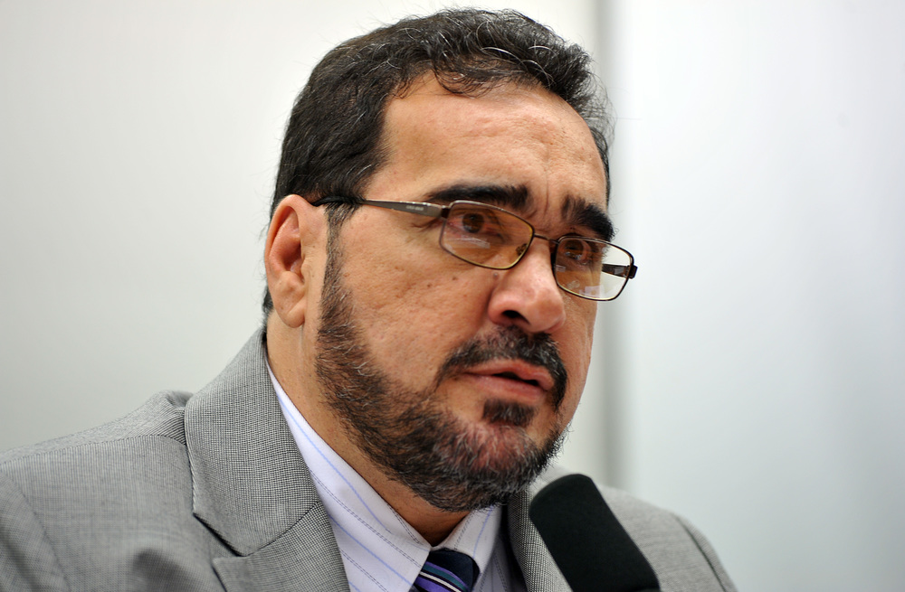 Deputado Amauri Teixeira Foto: Zeca Ribeiro - Câmara dos Deputados