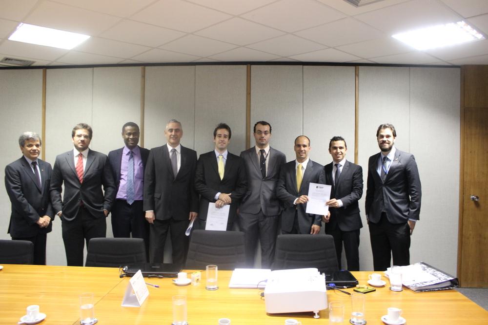 Componentes da chapa Gestão e Transparência. Foto: Ascom / FONACATE