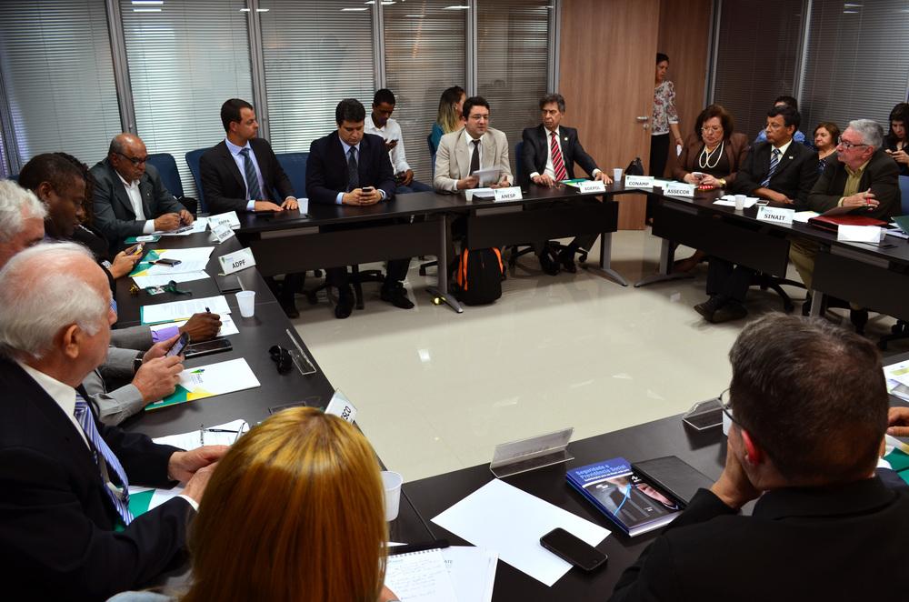 Encontro tratou de diversos temas. Dentre eles o encontro de líderes do Fórum com os candidatos à Presidência da República. Foto: Filipe Calmon / ANESP