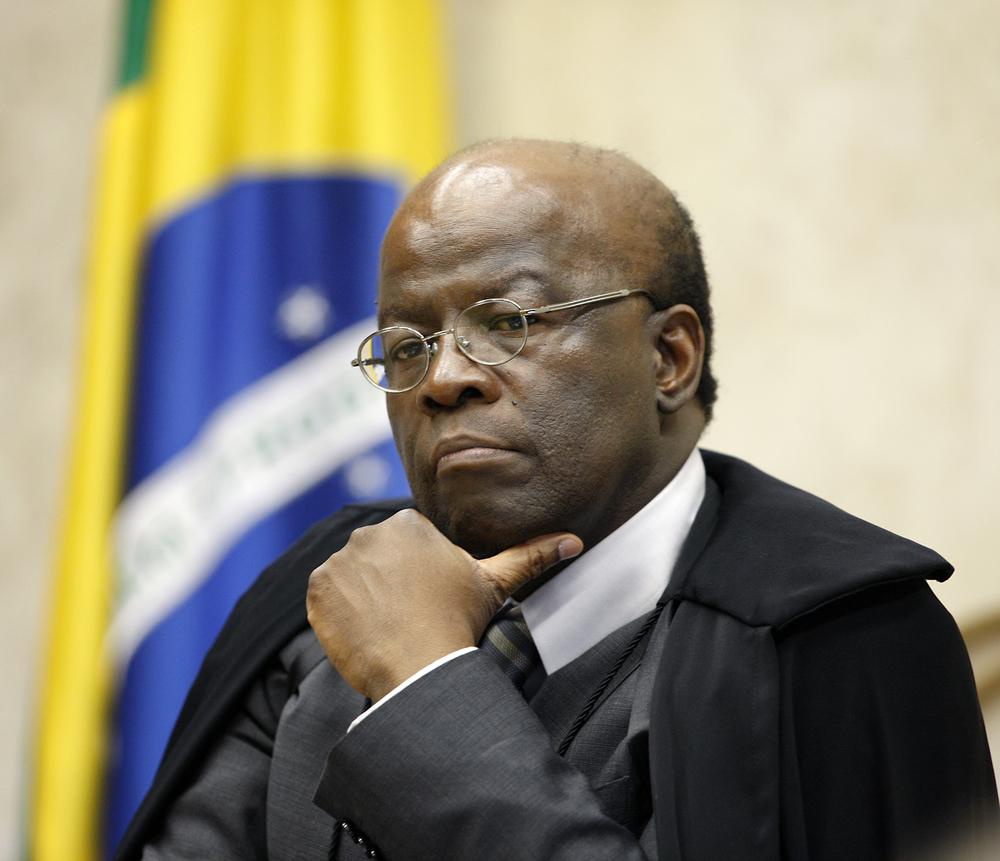 Ministro Joaquim Barbosa - Presidente do STF Foto: Nelson Jr./SCO/STF