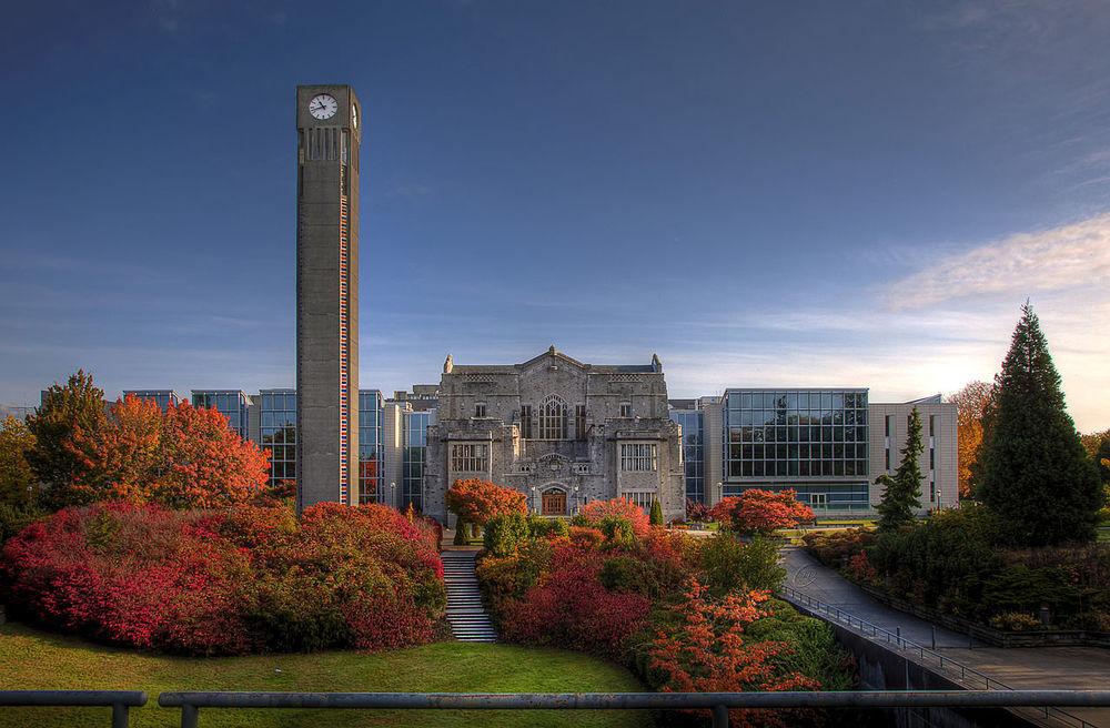 Universidade de British Columbia, Canadá. Fonte: C. J. Dakin.