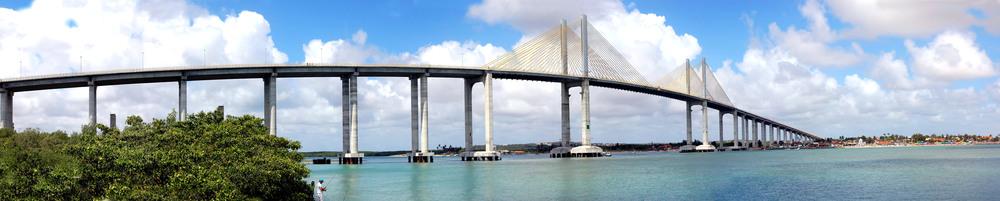 Ponte Newton Navarro, em Natal-RS. Foto: TC 2