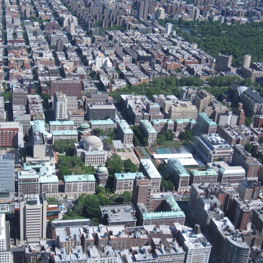 AColumbia Universityfica na cidade de Nova Iorque, onde um mês de aulas presencias serão ministradas em cada um dos dois anos de Mestrado. Foto: Gryffindor