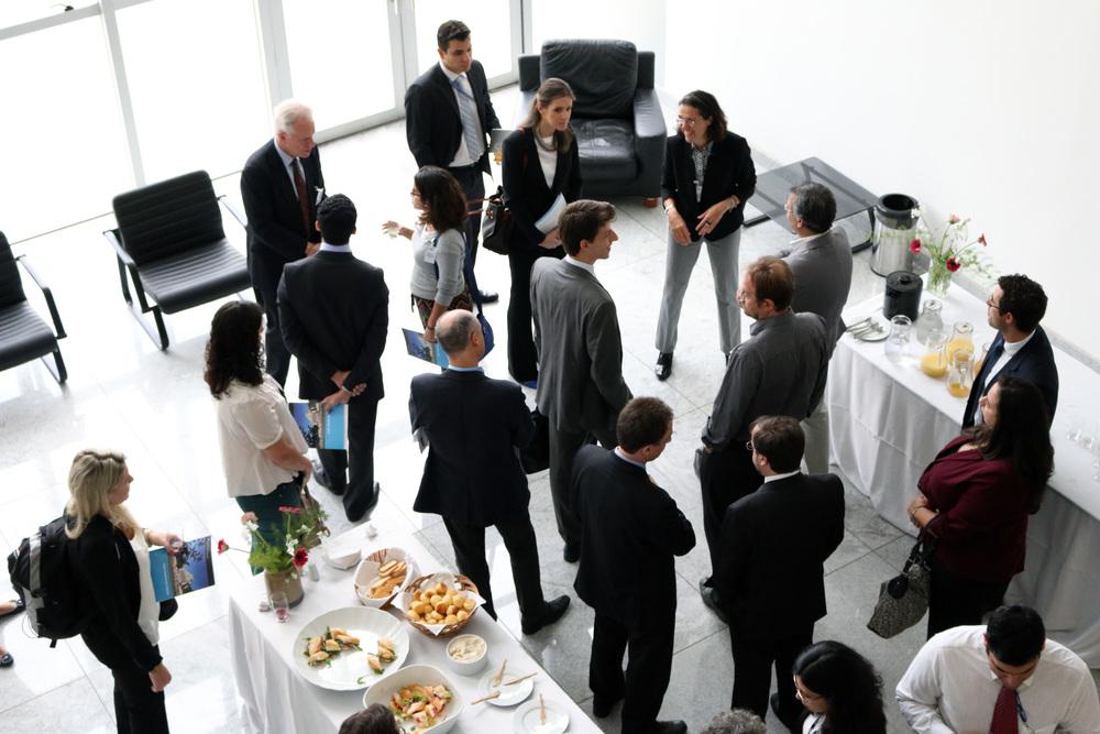 O evento foi realizado no CADE.