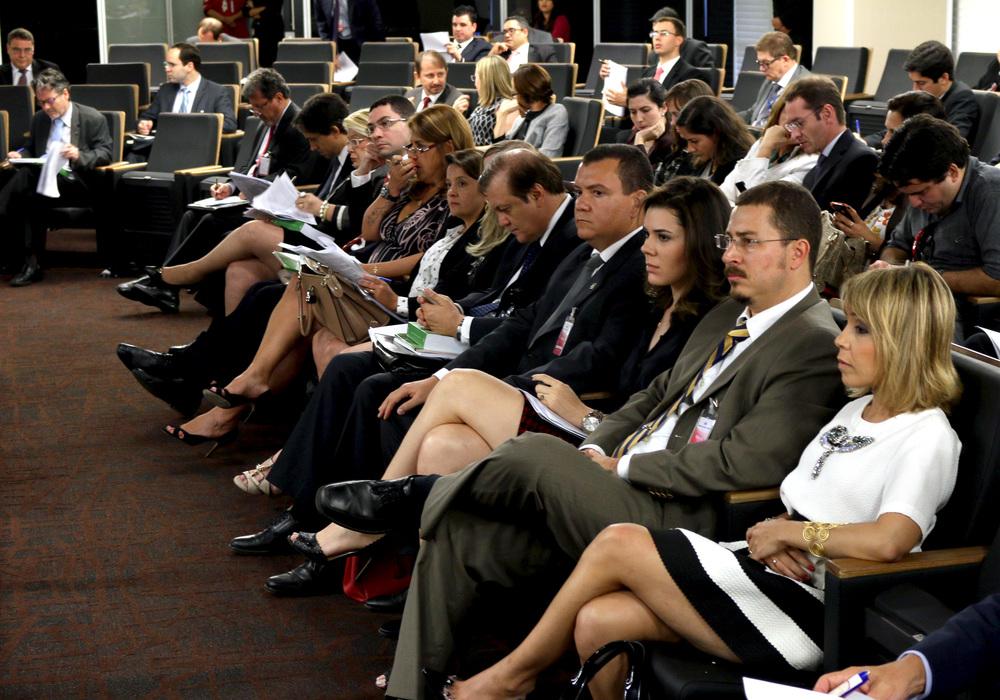 A diretoria da ANESP esteve presente. Foto: Filipe Calmon / ANESP