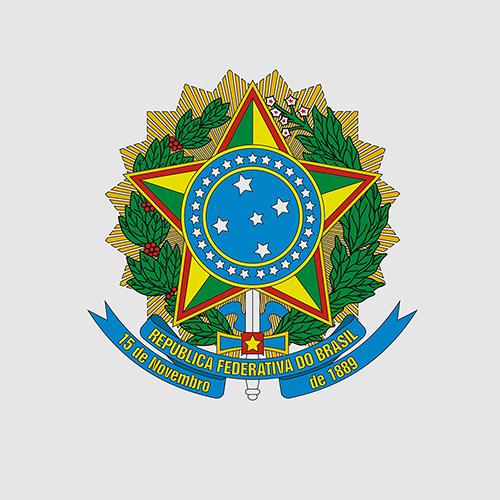 Brasão da República. Fonte: Presidência da República
