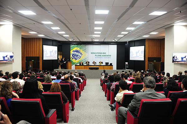 Sistema Eletrônico de Informações SEI foi apresentado no Ministério do Planejamento. Foto: Ilkens Souza