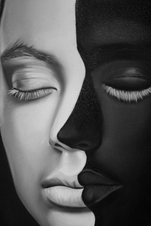 """Quadro """"Igualdade racial"""", de Getúlio Victor"""
