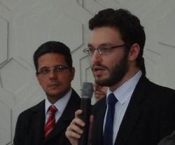 Ricardo Vidal e Afonso Pacífico - Diretores ANESP Foto: Ascom ANESP