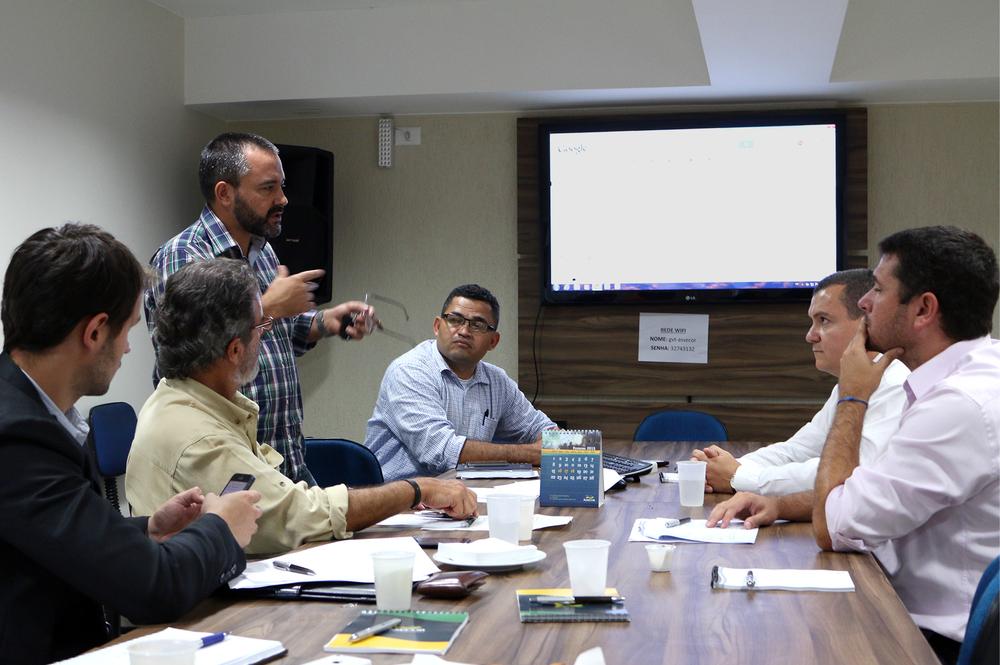 Reunião do Ciclo de Gestão na sede da Assecor. Foto: Filipe Calmon / ANESP