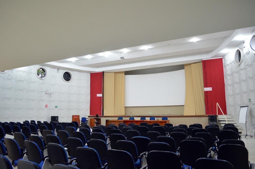 Cerimônia será no auditório da ENAP. Foto: Filipe Calmon / ANESP