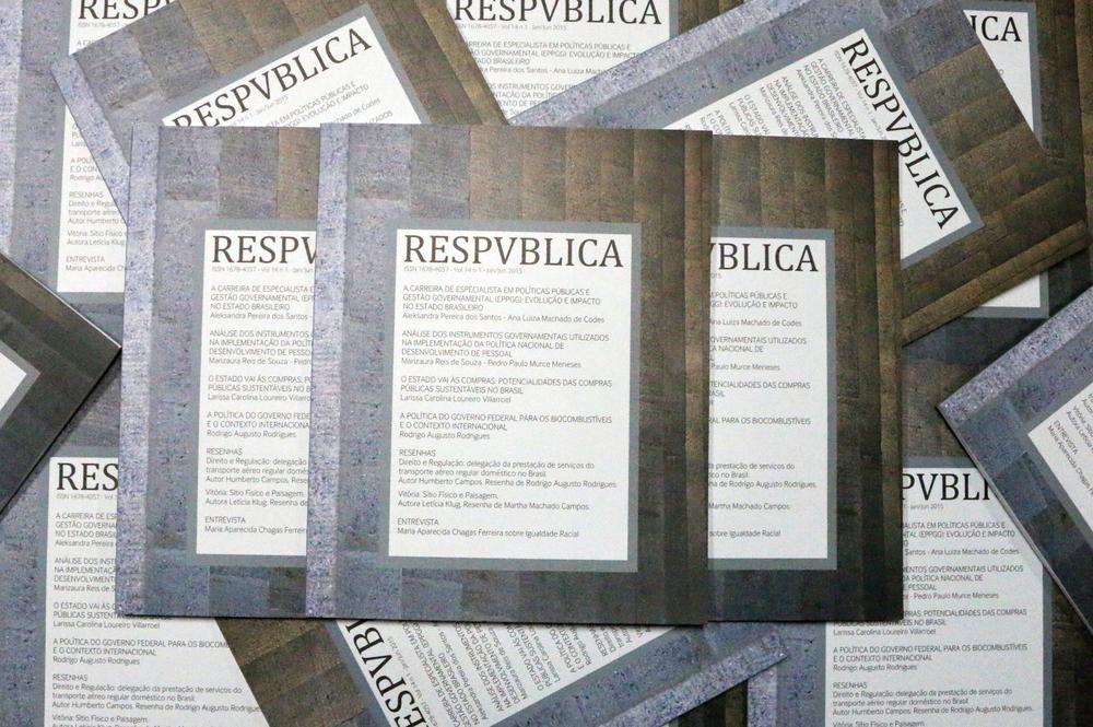 Vol 14 n 1 - jan/jun 2015 - ResPvblica. Foto: Filipe Calmon / ANESP