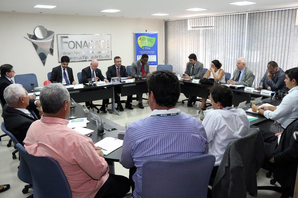 Fórum reúne entidades representativas de carreiras típicas de Estado. Foto: Filipe Calmon / ANESP