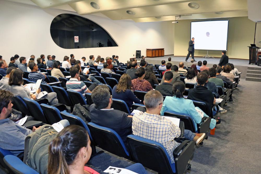 João Aurélio apresentou a Carreira de EPPGG para estudantes. Foto: Filipe Calmon / ANESP