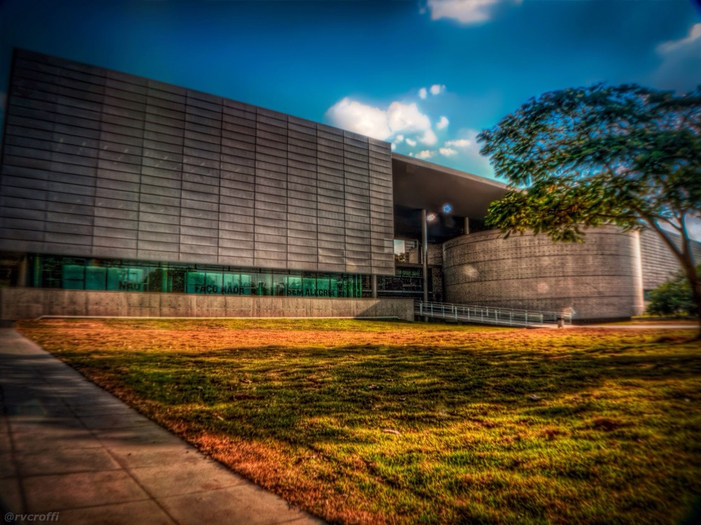 Biblioteca Brasiliana. Foto:Rafael Vianna Croffi