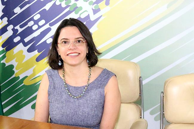 Paula Lima, Diretora Administrativa-Financeira, que esteve à frente das mudanças internas da ANESP