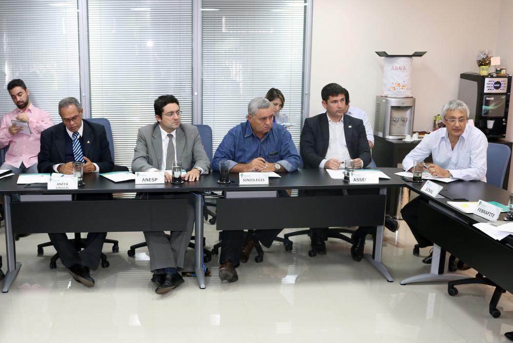 Diretor de Assuntos Jurídicos da ANESP, Alex Canuto, esteve presente na reunião. Foto: Filipe Calmon / ANESP