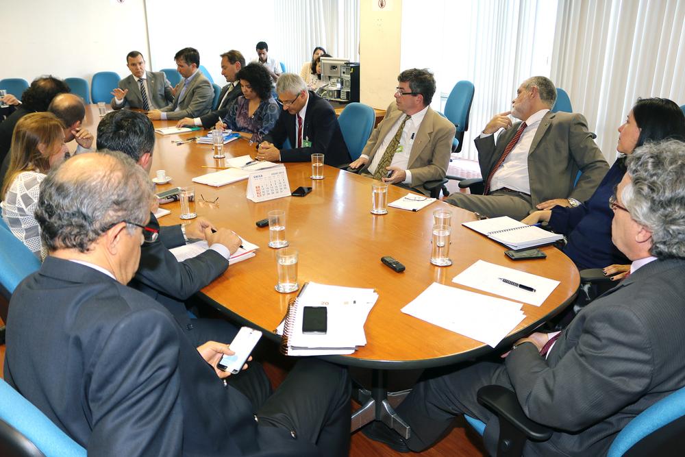Entidades do Ciclo de Gestão e do Núcleo Financeiro do Governo Federal reunidas na SRT.Foto: Filipe Calmon / ANESP
