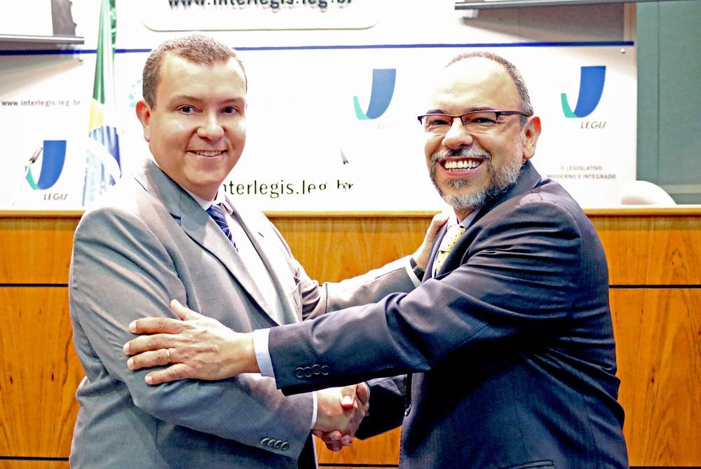João Aurélio e Luiz Alberto Bustamante. Foto: Filipe Calmon / ANESP