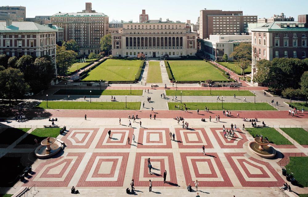 Universidade Columbia em Nova Iorque.