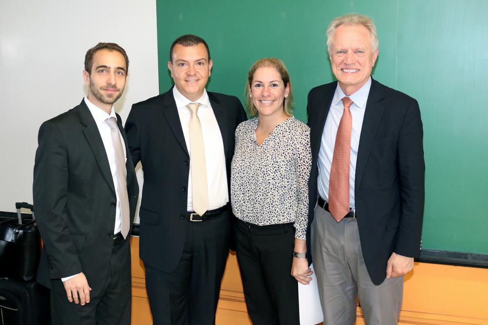 Matheus Azevedo, João Aurélio, Maria Luiza Paranhos e Thomas Trebat.
