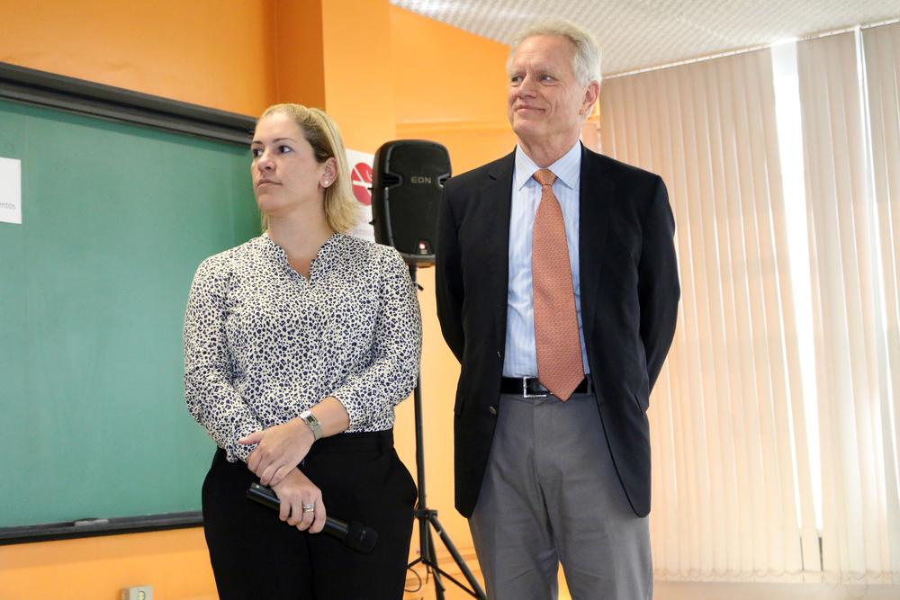Maria Luiza Paranhos e Thomas Trebat - Columbia na ENAP - 02 de setembro de 2015.jpg