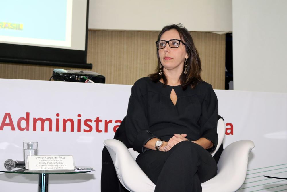 Patrícia Ávila, Secretária Adjunta de Gestão Pública.