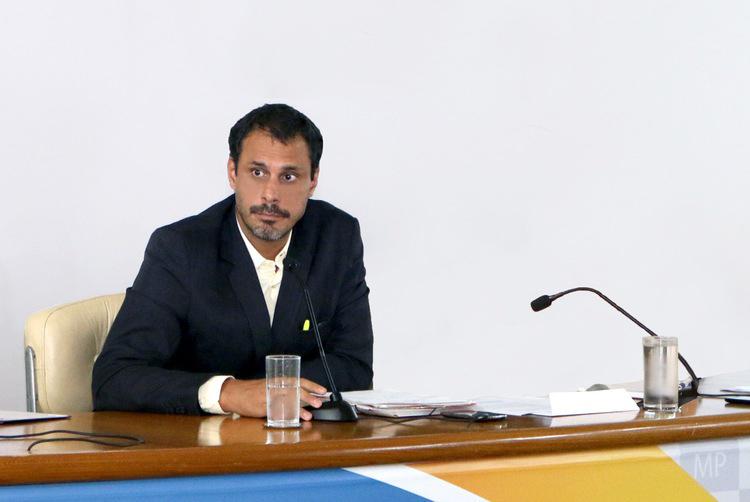 Diretor de Assuntos Profissionais Andrei Soares.Foto: ANESP.