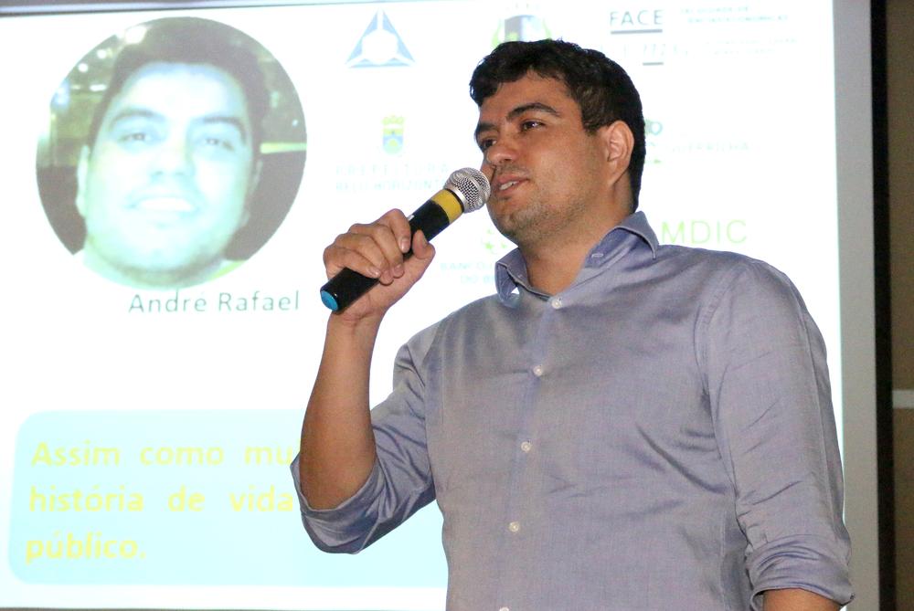 André Rafael é EPPGG da 15ª Turma