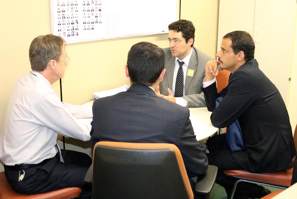 Wilson Calvo, ouve os Diretores da ANESP, Alex Canuto e Andrei Soares