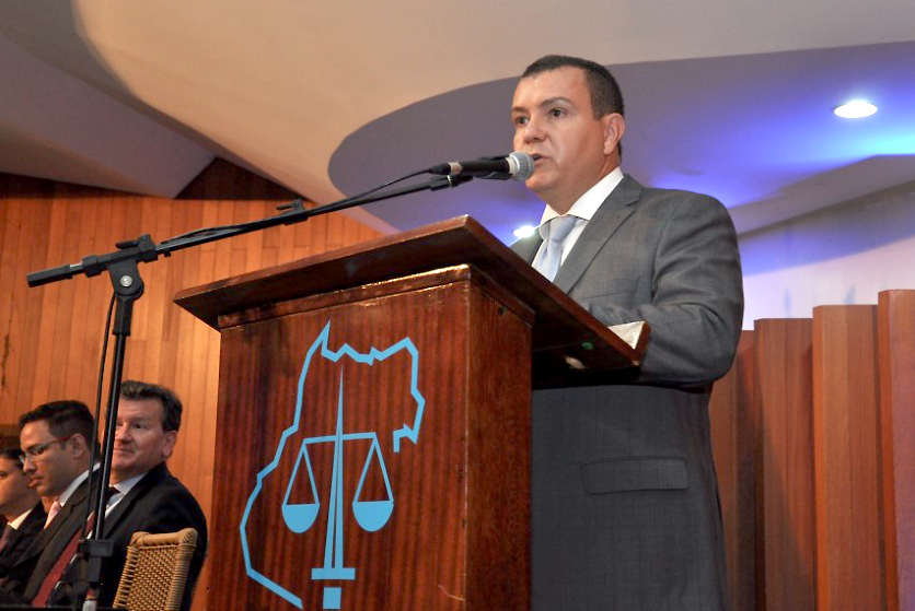 João Aurélio, então Presidente da ANESP, durante o GesGOV. Foto: SindGESTOR