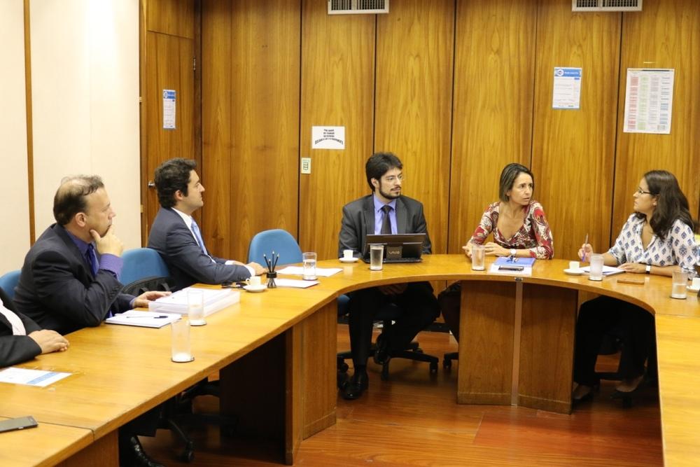 Da esquerda para a direita: Paulo Paiva, Alex Canuto, Antonio Ignácio, Patricia Audi e Patricia Costa