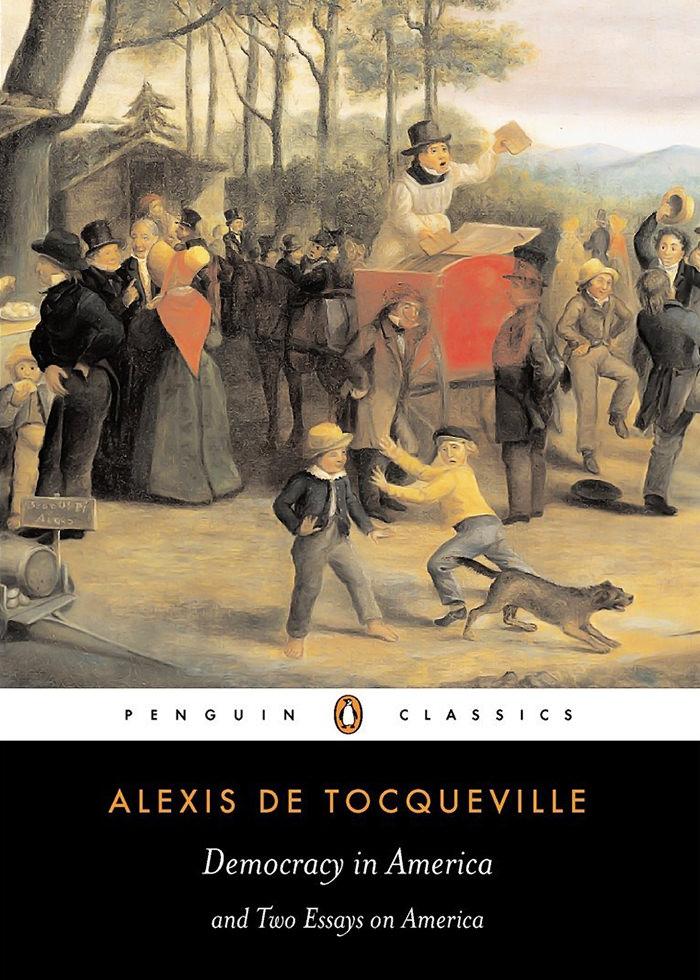 Tocqueville, Alexis de - Democracy in America.jpg