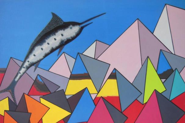 """""""Marlin"""", reprodução de tela de Marianne Nassuno."""