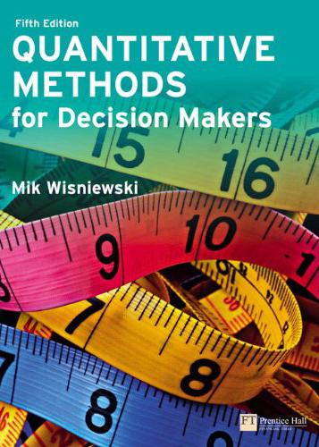 Wisniewski, Mik - Quantitative Methods for Decision Makers.jpg