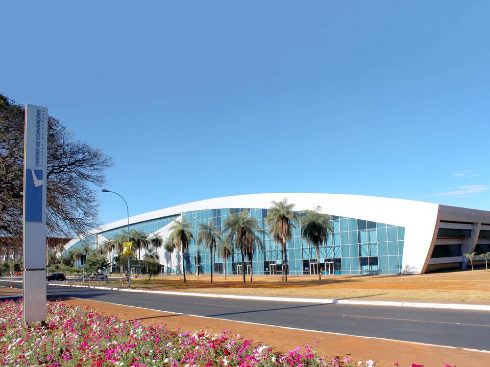 Centro de Convenções Ulysses Guimarães.Foto: Domínio Público