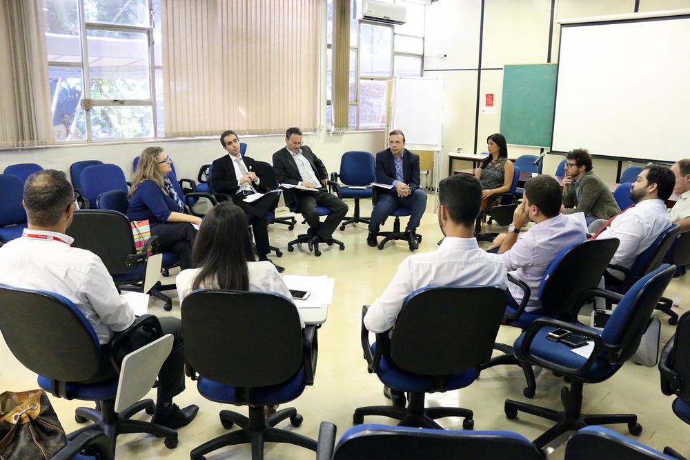 EPPGGs reunidos em Roda de Conversa. Foto: Filipe Calmon / ANESP