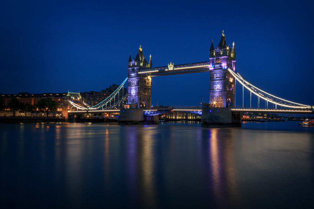Tower Bridge, Londres. Foto: Car Burton