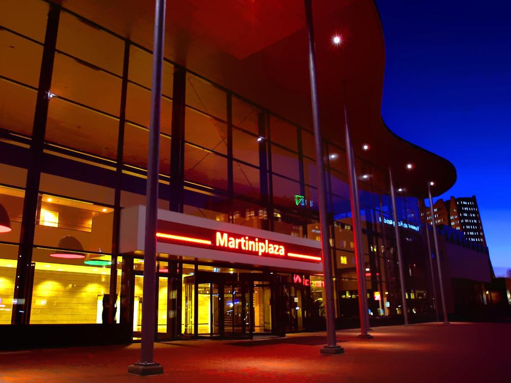 Martiniplaza é o centro de eventos internacionais da cidade de Groninga, na Holanda. Foto: Divulgação