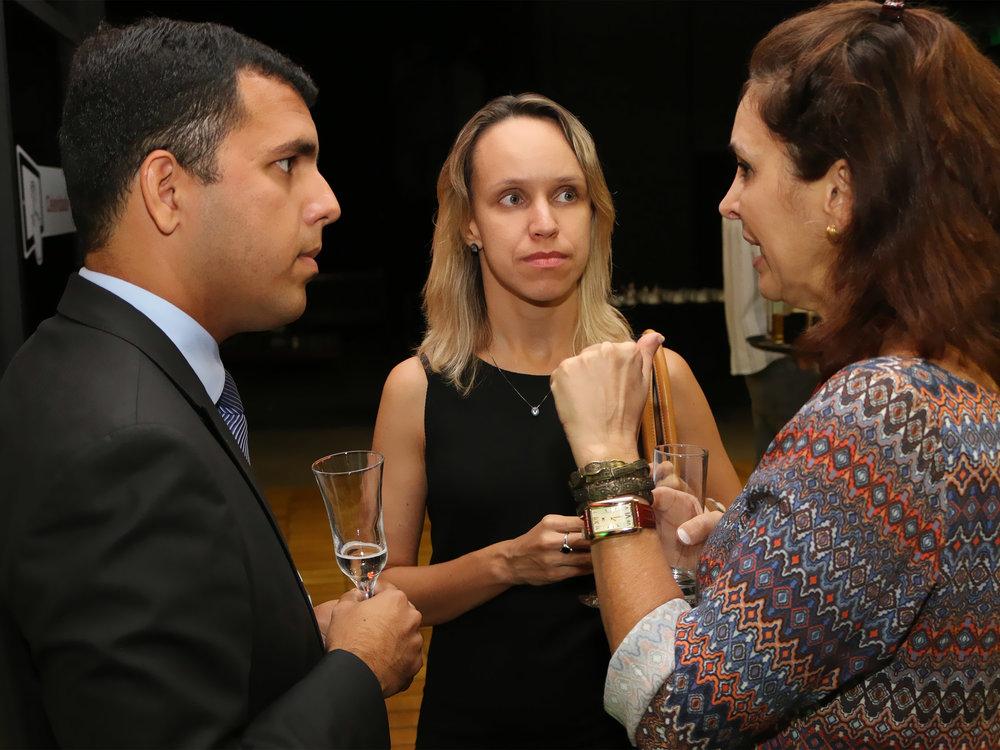 A EPPGG Michelle Morais de Sá e Silva (centro) éCoordenadora-Geral de Projetos Especiais na Enap. Foto: Filipe Calmon / ANESP