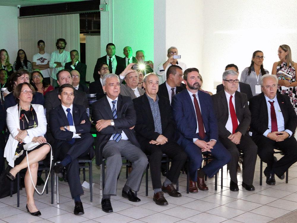 Ex-Presidentes da ENAP homenageados no evento. Foto: Filipe Calmon / ANESP
