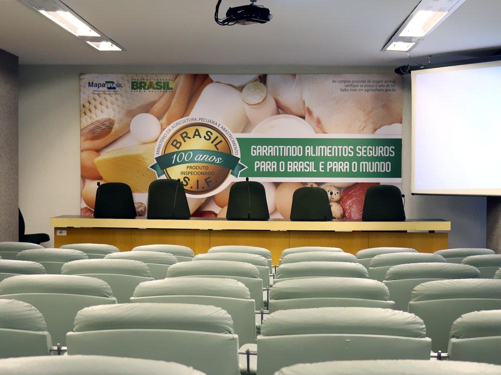 Auditório do MAPA receberá AGE. Foto: Filipe Calmon / ANESP