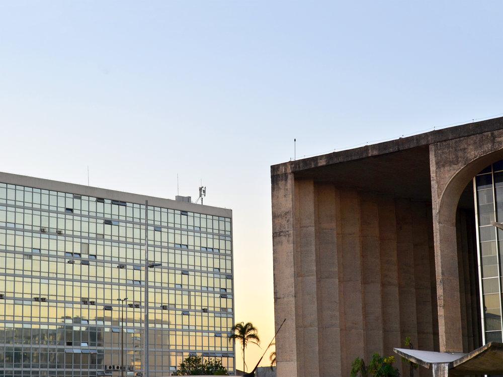 Ministério e Palácio da Justiça. Foto: Filipe Calmon / ANESP