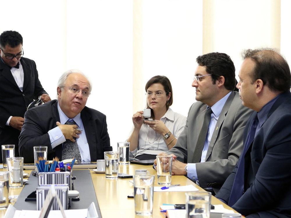 Encontro foi o primeiro das entidades com o novo Presidente da Escola. Foto: Filipe Calmon / ANESP