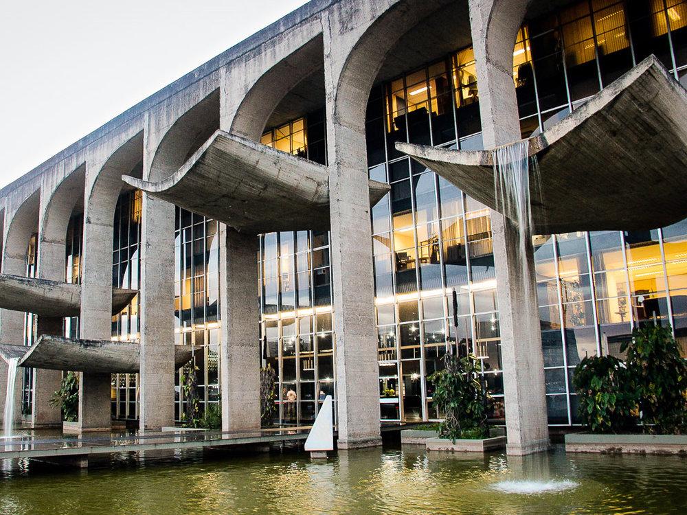 Palácio da Justiça.Foto: Eduardo Beltrame