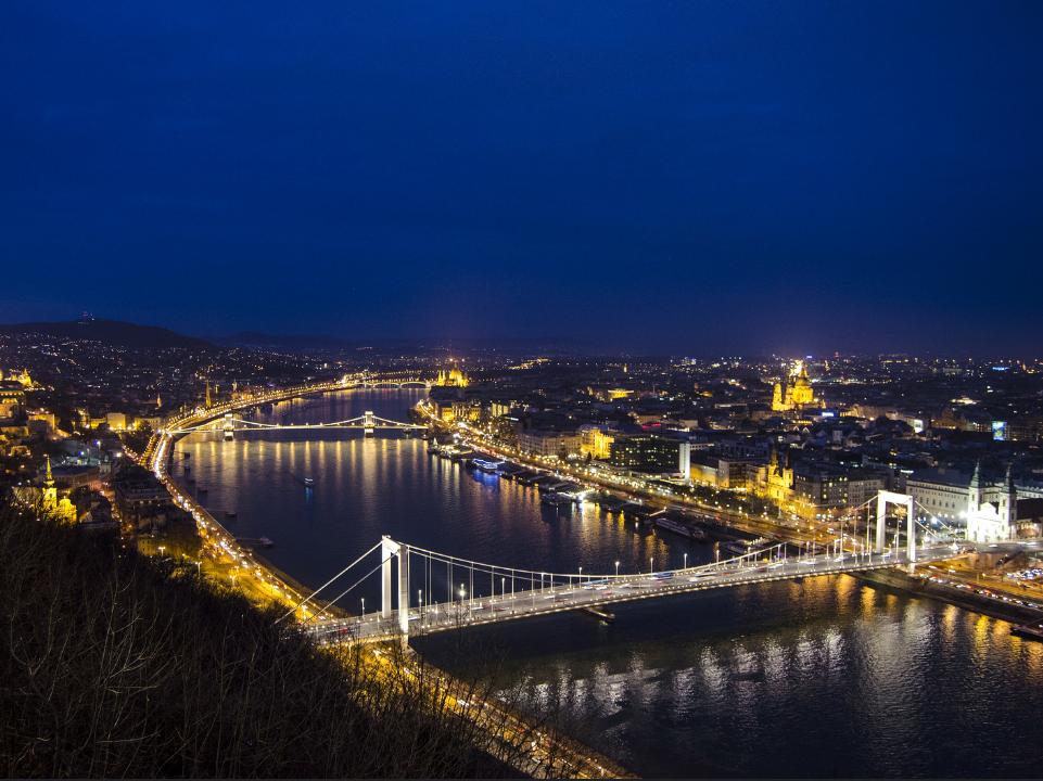 Alunos passarão a maior parte do tempo em Budapeste, capital da Hungria. Foto: José Hidalgo