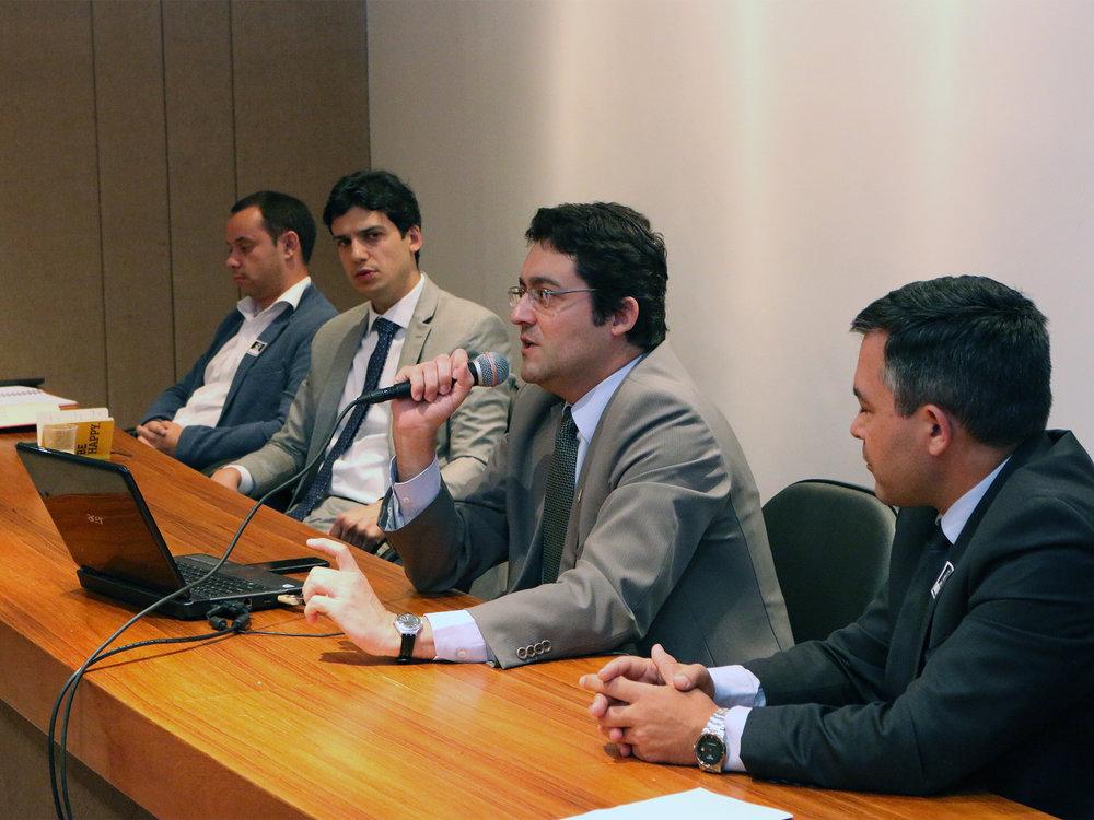 Para Canuto, falar sobre meritocracia no serviço público é importante. Foto: Filipe Calmon / ANESP